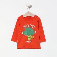 【1件3折到手价:29.7】moomoo童装男童长袖T恤2019新款春装纯棉卡通小儿童宝宝上衣