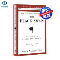 英文原版 黑天鹅:如何应对不可预知的未来 The Black Swan Nassim Nicholas Taleb Ra