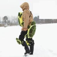 小绿龟护臀小乌龟护具滑雪溜冰防摔护胸护膝儿童男女通用单板