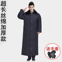 军大衣棉衣保安冬季保安大衣加厚冬多功能工作服男棉大衣xx