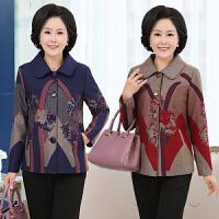 妈妈装秋装外套 50-60岁中老年人奶奶装女装衣服春秋季上衣外套