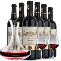 法国进口 欧斯特AOC艾洛干红葡萄酒 750ml*6