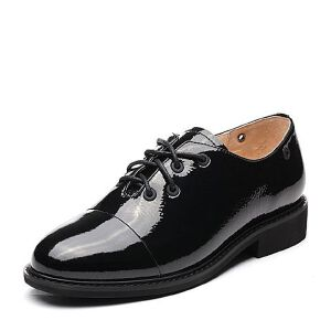 Teenmix/天美意2018春率性英气方跟系带鞋女单鞋97801AM8