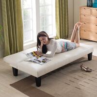 【限时7折】小户型沙发床可折叠客厅单人双人三人1.8米简易两用皮艺折叠沙发