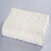 ???乳胶枕颈椎枕头枕芯护颈枕记忆 白色50*30