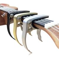 ?升级款锌合金吉他变调夹民谣吉他尤克里里变音夹电木吉它capo配件?