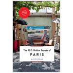 【500个隐藏秘密旅行指南】Paris,巴黎 英文原版旅游攻略