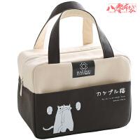饭兜子手拎上班带饭的饭盒袋子现货小号保温袋子隔热加厚防水防油