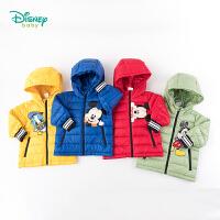 【2件3折到手价:140】迪士尼Disney童装 男童保暖羽绒外套冬季新品双层胆布防钻绒工艺舒适羽绒服194S1140