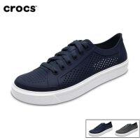 Crocs卡骆驰女凉鞋 都会街头洛卡系带低帮女休闲鞋单鞋|204884 女士都会街头洛卡系带鞋