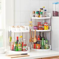多层不锈钢置物架落地储物架沥水架收纳架厨房调味料整理架调料架