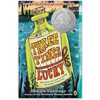 【现货】Three Times Lucky 英文原版 从天而降的幸运 原版青少小说 纽伯瑞获奖作品 假期读物推荐
