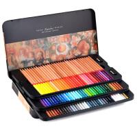 马可美术设计手绘雷诺阿48 72 100色油性彩色铅笔3100彩铅包邮