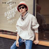 【2件2.5到手价:211.5】MECITY男装2019春季新款时尚薄款夹克潮流休闲外套