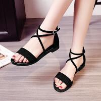 女童凉鞋夏季儿童韩版公主中大童小学生罗马鞋平底女孩鞋仙女