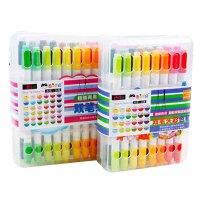 儿童水彩笔无毒可水洗 学生用24色画笔幼儿园36色彩色笔
