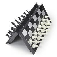 儿童入门书籍桌面游戏儿童节礼物 大号磁性折叠国际象棋套装