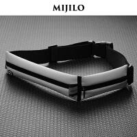 米基洛跑步手机包男女运动腰包防水贴身隐形健身装备迷你小腰带包