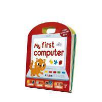 【现货】英文原版 My First Computer (Play Learn Do)我的电脑:手工翻翻书 2-4岁 互动机关书 趣味儿童书 精装10页