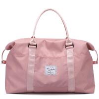大容量女士手提旅行包商务出差行李包穿拉杆包防水尼龙包