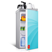 德姆勒(DEMULLER)98升冰箱 家用单门门茶吧冰箱 蓝色迷你单门冰箱 办公室时尚商务茶吧机电冰箱