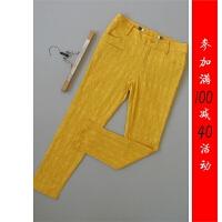 满减宛[X250-222]专柜品牌599正品新款女士女裤休闲长裤子0.34KG