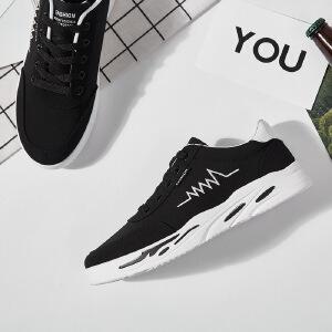 2018春款新款韩版板鞋休闲运动男鞋学生帆布鞋低帮潮流鞋子756JQ