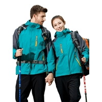 冬季冲锋衣男女三合一两件套防风防水透气户外登山服