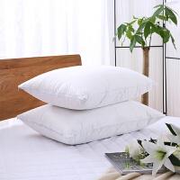 枕头套 枕头皮保护套床上用品居家床品 枕头套白色 47cmx74cm