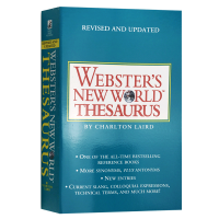 �f氏新世界英�Z同�x�~�~典 英文原版 Webster's New World Thesaurus 英文版美�Z字典 英�Z�W�