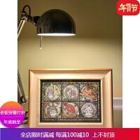 透明拼图框日本Tenyo456片透光框266片迪斯尼彩绘框208片拼图相框 自店营年货 51.2*73.7cm 挂墙不