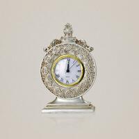创意家居摆件装饰品树脂工艺礼物欧式复古时钟表婚庆礼物结婚礼品