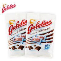 【当当海外购】意大利进口 galatine佳乐锭牛奶压片糖巧克力味奶片50g*3袋 日期格式:日月年