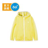 361度童装 女童运动休闲皮肤风衣外套2021年春季新品N61913602