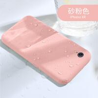 苹果XR手机壳iPhoneXR液态硅胶套iPhone XR超薄iPoneXR硅胶全包防摔女潮牌个性网