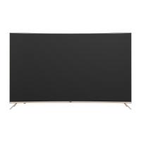 Haier海尔 55��4K超清曲面窄边框人工智能电视LQ55H31语音操控 三星屏幕