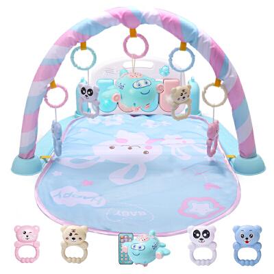 婴儿玩具 脚踏钢琴健身架器新生儿童宝宝幼儿0-1岁3-6-12个月 抖音