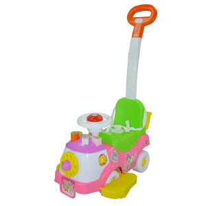 【当当自营】炫梦奇 儿童滑行车 扭扭车 小孩脚踏车 手推车 三合一童车 玩具车 转盘童车XMQ0627