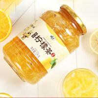 蜂蜜柠檬茶1000g 柠檬果酱健康养生冲泡美白排毒无添加女生饮品