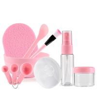 面膜碗套装自制压缩面膜刷棒大小计量器喷瓶泡瓶化妆美容工具