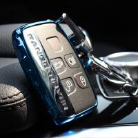 适用于路虎钥匙扣捷豹路虎揽胜极光发现神行汽车遥控钥匙包套壳扣
