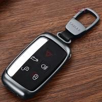 路虎钥匙包18款揽胜运动版行政版星脉极光发现5者4发现神行捷豹XFL XEL F-PACE钥匙扣壳套