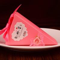 新款婚庆用品花盆结婚糖盒欧式喜糖盒子创意婚礼喜糖袋 糖果盒子
