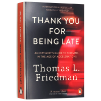 谢谢你迟到 英文原版 Thank You for Being Late 一部写给未来的社会简史 重塑未来的 3M 力量