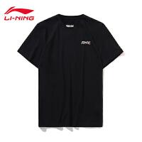 纽约时装周走秀同款李宁短袖T恤男士新款夏季运动服AHSN787