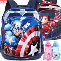 迪士尼书包小学生男童1-3-4年级美国队长儿童蜘蛛侠减负双肩背包