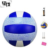 征伐 排球 中考学生比赛训练5号充气软式气排球PU不伤手室内外通用沙滩排球手感训练球