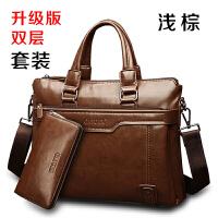 精品男包商务包男士包包横款手提包单肩包男公文包包电脑包斜挎包