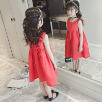 童装女童裙子夏装新款时尚韩版儿童洋气公主裙宝宝背带裙潮衣