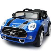 儿童电动车可坐双驱越野车遥控四轮汽车宝宝婴童车宝马MINI